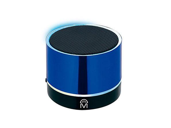 Mental Beats Bluetooth Pulse Mini Speaker: 2-Pack (Blue)