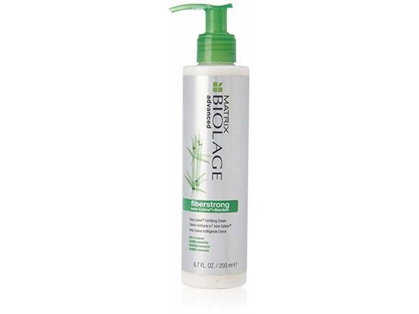 Biolage Advanced Fiberstrong Intra-Cylane Fortifying Cream Damaged Hair, 6.8oz - White