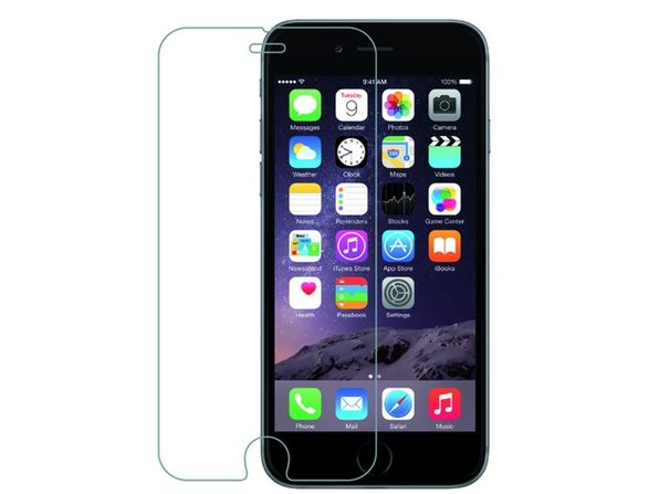 iPhone 7 Plus Premium Tempered Glass Screen Protector Glass 2-Pack