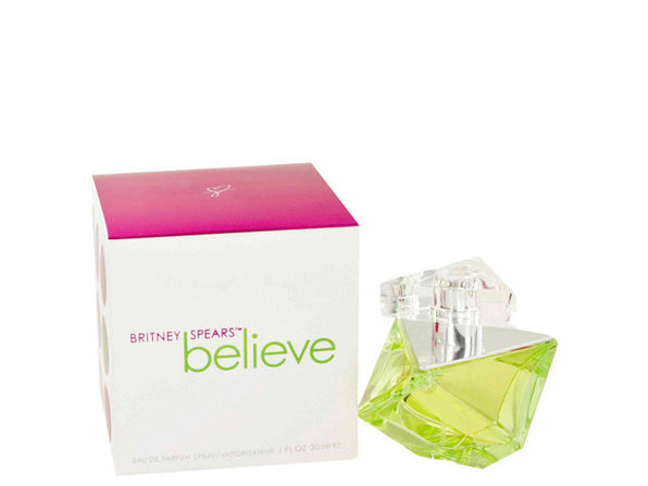 Believe by Britney Spears Eau De Parfum Spray 1 oz for Women (Package of 2) - Product Image
