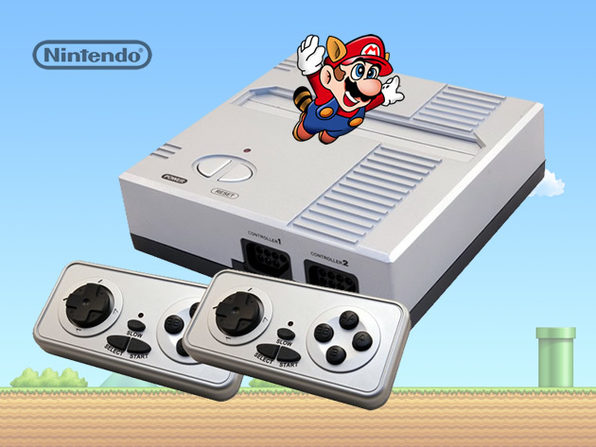 NES RetroN Gaming System + 2 RetroN Controllers - Product Image