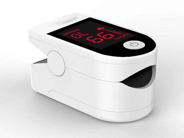 Fingertip Pulse Oximeter (4-Pack / White)