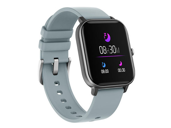 Metalika Smart Watch with Health & Activity Tracker (Grey)