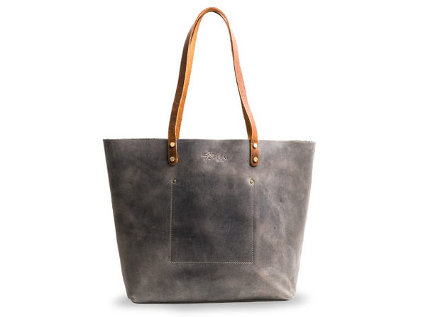 LaSalle Rustic Leather Tote (Grande/Basic)