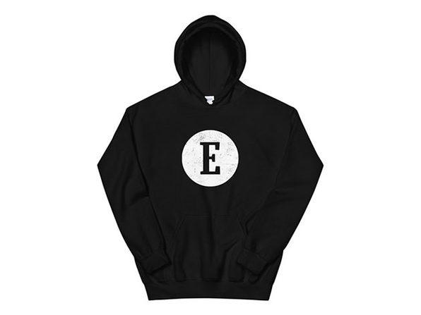 Entrepreneur Logo Hoodie - Black - Large - Product Image