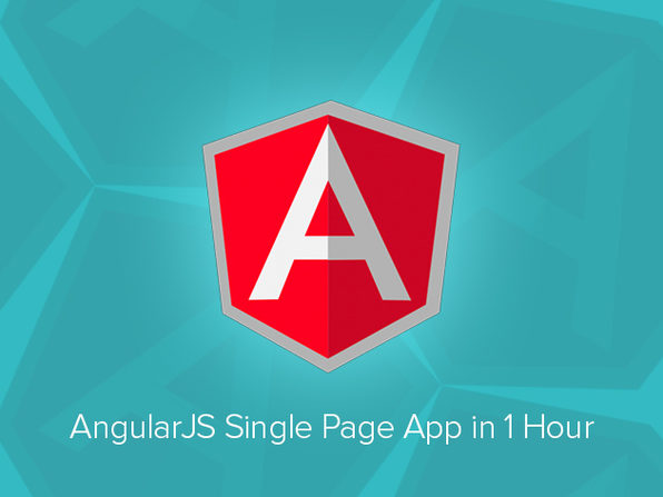 AngularJS Single Page App Course - Product Image
