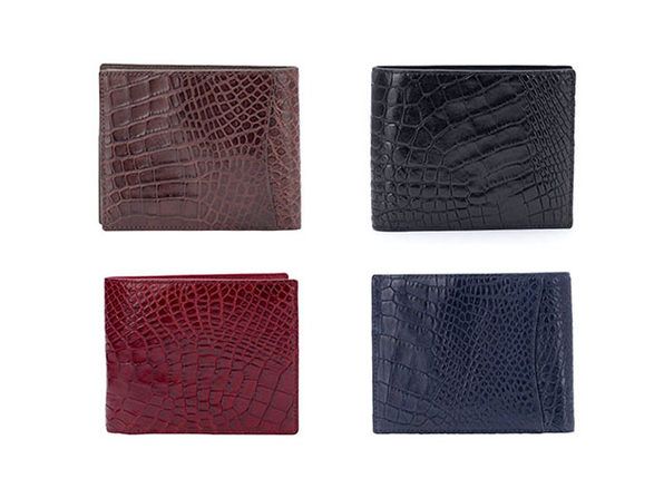 Andre Giroud Exotic Alligator Wallet