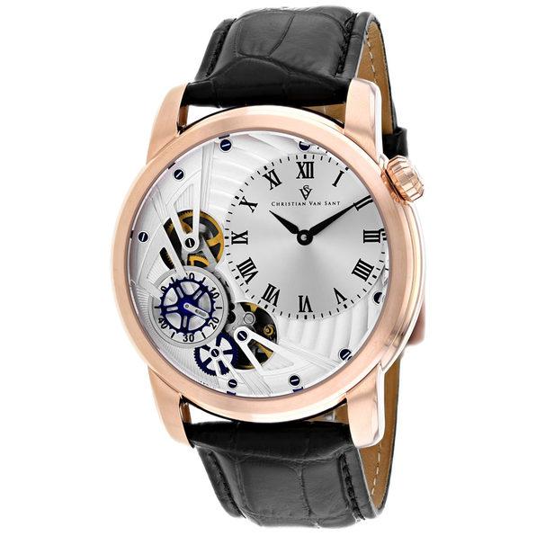 Christian Van Sant Men's Sprocket Auto-Quartz Silver Dial Watch - CV1545 - Product Image
