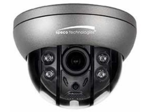 Speco Technologies O4FD5M 4MP, H.265 Dome IP Camera