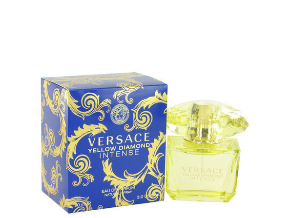 Versace Yellow Diamond Intense by Versace Eau De Parfum Spray 3 oz for Women (Package of 2) - Product Image