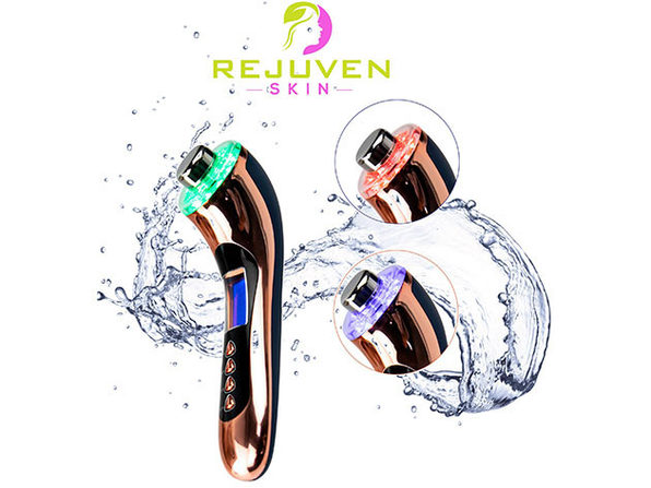 Rejuven Skin 5-in-1 Anti-Aging Facial Toning Device