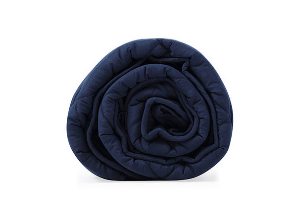BlanQuil™ Basic Weighted Blanket (Navy/12 Lb)