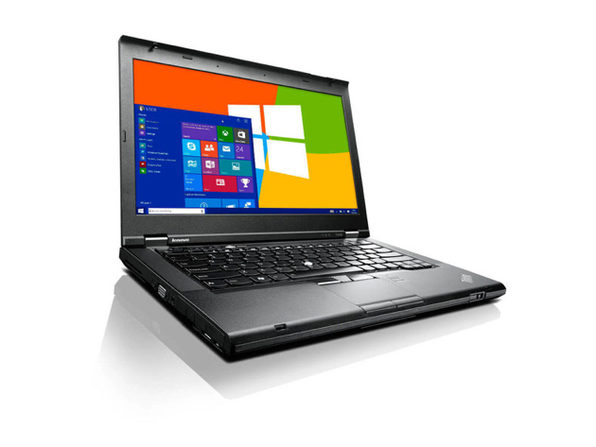 "Lenovo ThinkPad T430 14"" Laptop, 2.6GHz Intel i5 Dual Core Gen 3, 8GB RAM, 128GB SSD, Windows 10 Home 64 Bit (Renewed)"