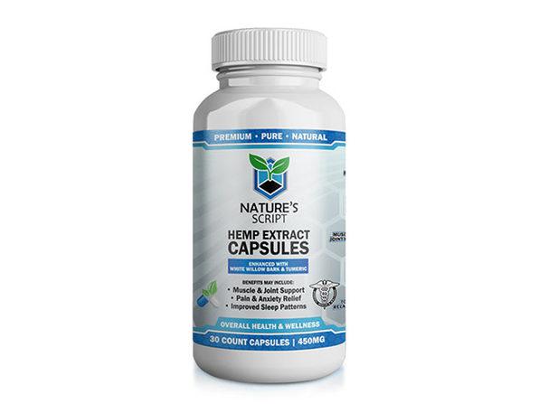 CBD Hemp Extract Capsules (30-Count)
