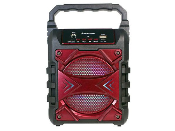 JET 4 Portable Bluetooth Speaker Red - Product Image