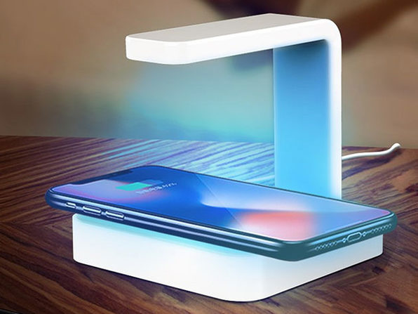 2-in-1 Wireless Charger + UV Sanitizer