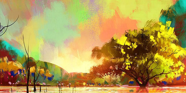 Paint Your First Digital Landscape Using Corel Painter - Product Image