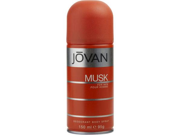 JOVAN MUSK by Jovan DEODORANT BODY SPRAY 5 OZ 100% authentic - Product Image