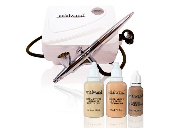 Airbrush Kit with Serum Infused Foundation