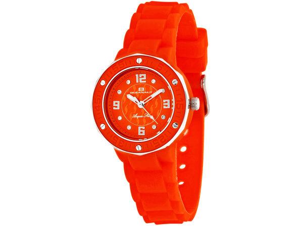 Oceanaut Women's Acqua Star Red Dial Watch - OC0440