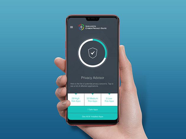ShieldApps Cyber Privacy Suite: Lifetime Subscription