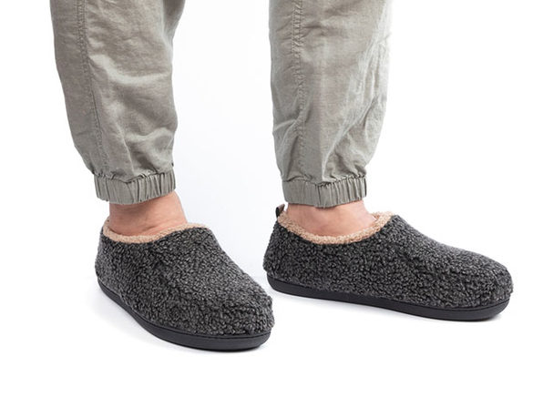 Men's Nomad Slippers with Memory Foam (Black)