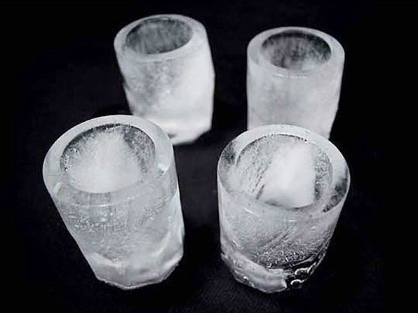 Silicone Shot Glass Ice Tray Molds