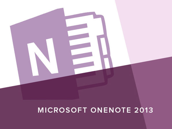 Microsoft OneNote 2013 Course - Product Image