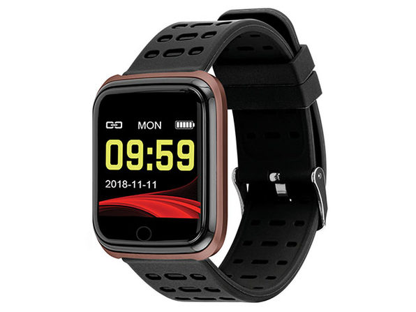 Slide Fitness Smart Watch Rose Gold - Product Image