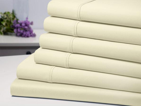 Bamboo Comfort 6-Piece Luxury Sheet Set (Ivory/Queen)