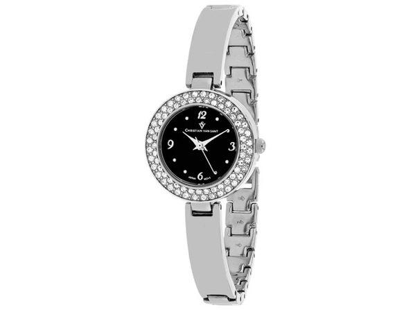 Christian Van Sant Women's Palisades Black Dial Watch - CV8612