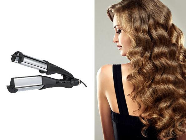 Tidal Beach Wave Titanium Hair Waver/Curler