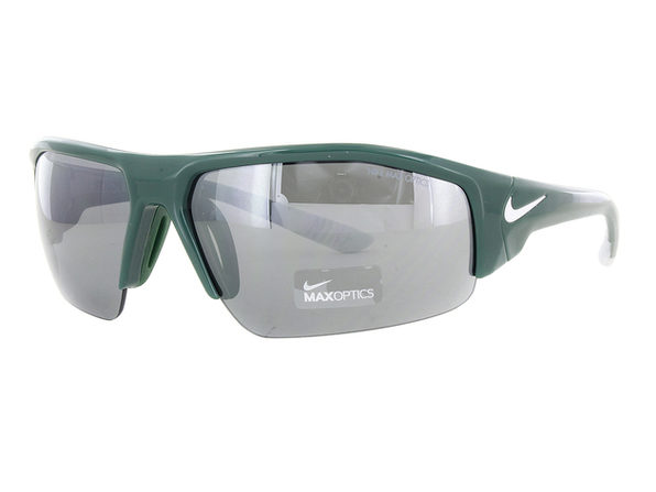 Nike Skylon Ace XV Sunglasses EV0857-301 Green and White Frames - Green