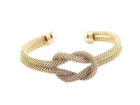 Love Me! Love Me! Knot Cuff Bracelet