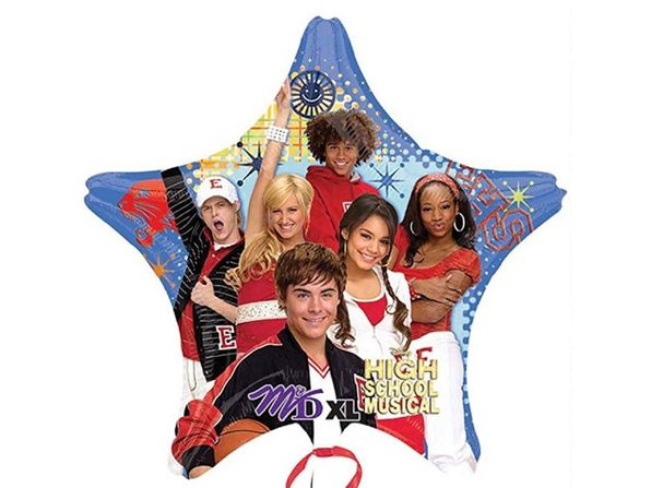 Disney High School Musical Star Mylar Balloon