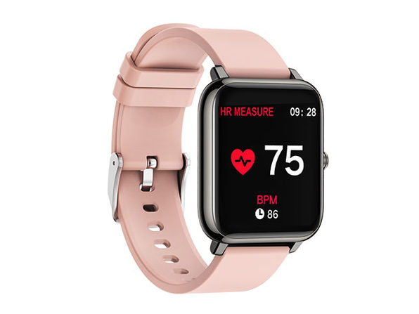 OXITEMP Smart Watch with Live Oximeter (Pink)