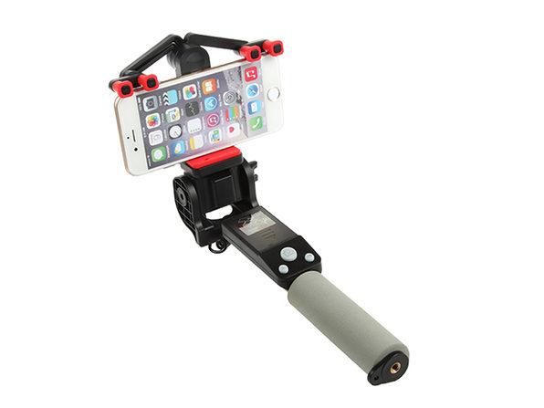360 Deg. Panoramic Robotic  Selfie Stick - Black - Product Image