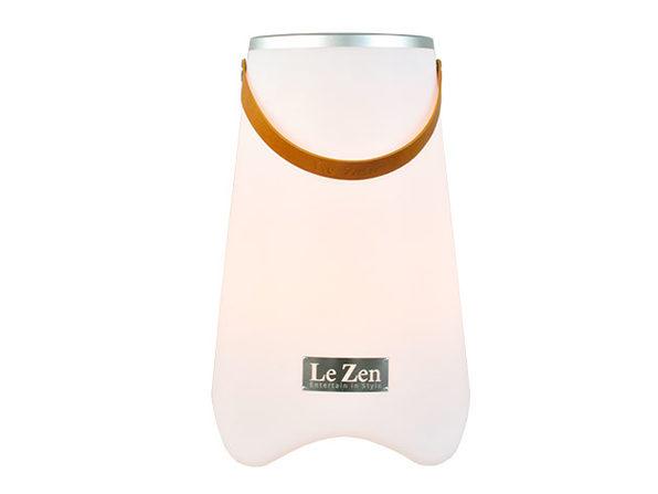 Le Zen: LED Wine Cooler & Bluetooth Speaker
