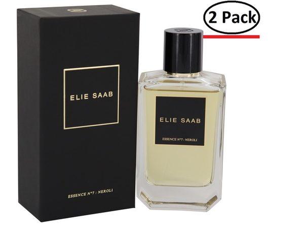 Essence No 7 Neroli by Elie Saab Eau De Parfum Spray 3.3 oz for Women (Package of 2) - Product Image