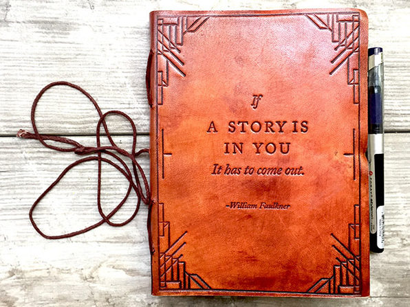 """If A Story Is In You"" Travelers Notebook"