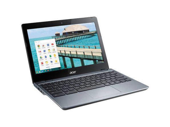"""Acer C720P-2625 11"""" Chromebook, 1.4GHz Intel Celeron, 4GB RAM, 16GB SSD, Chrome (Grade B)"""