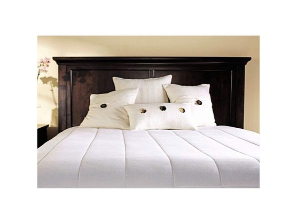 Sunbeam M1P Quilted Electric Heated Warming Mattress Pad White K016 - White