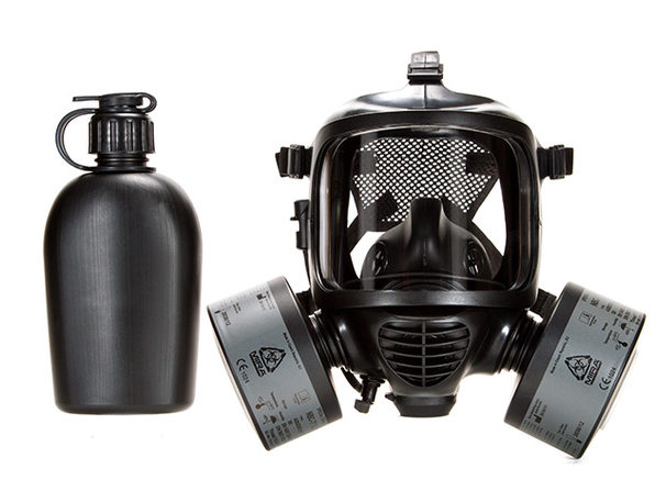 CM-6M Tactical Full-Face Respirator for CRBN Defense with Drink System