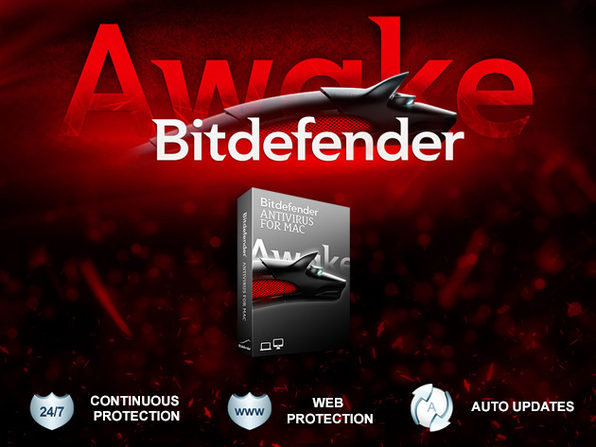 1-Year of Bitdefender Antivirus For Mac - Product Image