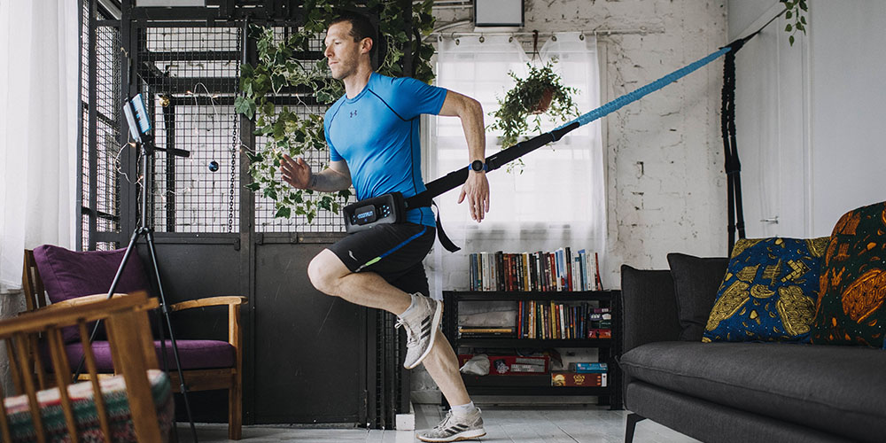 MoonRun: Portable Cardio Trainer with Virtual Running Apps, on sale for $199.20 when you use coupon code GREEN20 at checkout