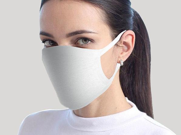 Reusable Face Masks: 8-Pack (White)