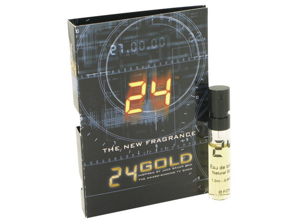 24 Gold The Fragrance by ScentStory Vial (sample) .04 oz Great price and 100% authentic - Product Image