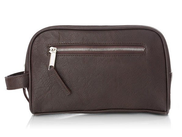 Barber Leatherette Toiletry Bag - Product Image