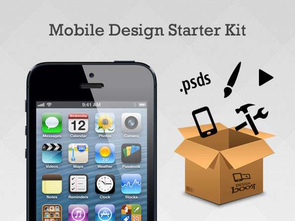 The Mobile App Professional Design Starter Kit - Product Image