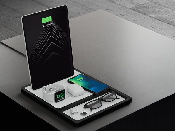 QUAD TRAY Wireless Charging Station